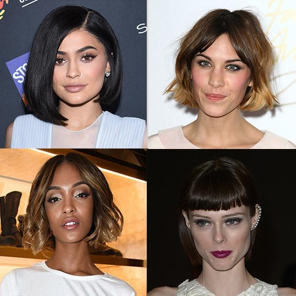 During the warmer months the bob haircut is our go-to look for the summer. 
