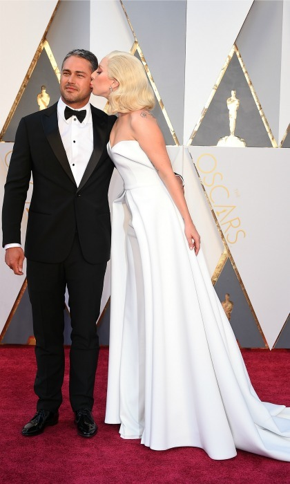 <b>Lady Gaga and Taylor Kinney</b>
