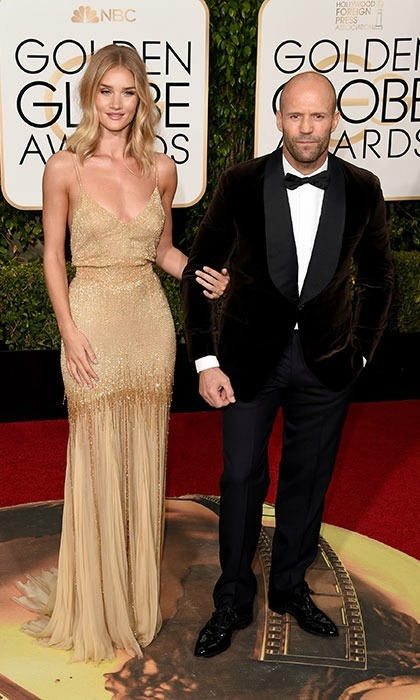 <b>Rosie Huntington-Whiteley and Jason Statham</b>