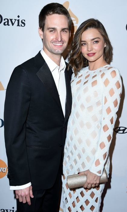 "<b><a href=""http://us.hellomagazine.com/tags/1/mirada-kerr/""><strong>Miranda Kerr</strong></a> and Evan Spiegel</b>