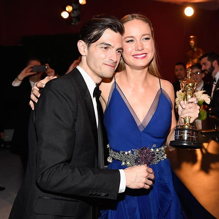 "<b><a href=""http://us.hellomagazine.com/tags/1/brie-larson/""><strong>Brie Larson</strong></a> and Alex Greenwald</b>