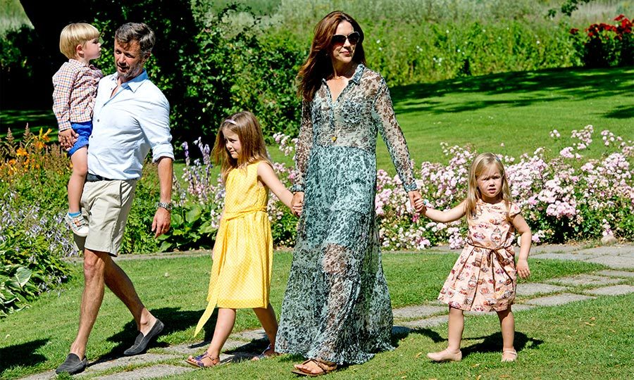 "For their summer vacation, <a href=""http://us.hellomagazine.com/tags/1/crown-prince-frederik"" target=""_blank""><strong>Crown Prince Frederik</strong></a> and <a href=""http://us.hellomagazine.com/tags/1/crown-princess-mary"" target=""_blank""><strong>Crown Princess Mary of Denmark</strong></a> head off to the East coast of Jutland, the Danish countryside that boarders with Germany. Following tradition, the Crown Princes and their four children take up residence in the Gråsten castle, for the first part of their summer holidays. During their time in the beautiful countryside, the family take part in many sporting activities including horse rides and cycling trips with their Border Collie, Ziggy. 