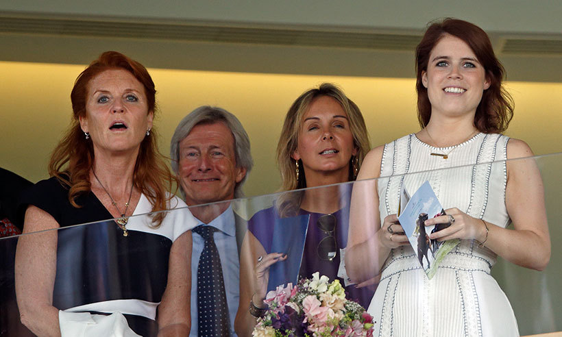 Princess Eugenie and her mom, Sarah, Duchess of York, looked like they were having a great time together at the Ascot races on King George VI Weekend. The pair were seen cheering and chatting from the royal box.