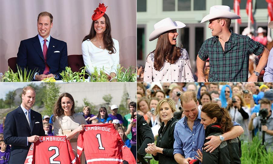 "In 2011, <a href=""http://us.hellomagazine.com/tags/1/prince-william/""><strong>Prince William</strong></a> and his new wife <a href=""http://us.hellomagazine.com/tags/1/kate-middleton/""><strong>Kate Middleton</strong></a> undertook their first royal tour as husband and wife. The newlyweds flew to Canada for a nine-day trip visiting Alberta, the Northwest Territories, Prince Edwards Island, Quebec and the capital, Ottowa.