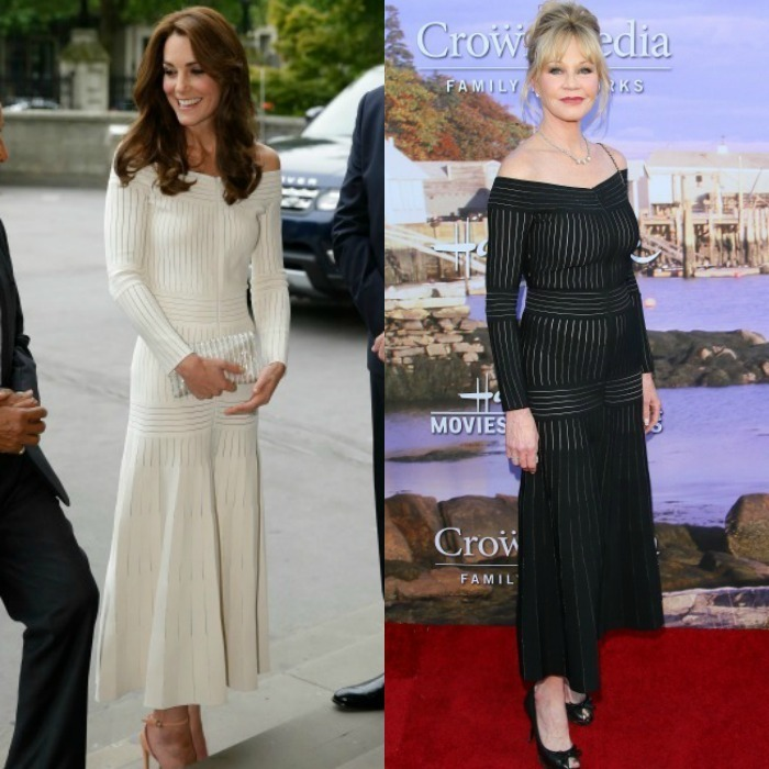 <b>Kate Middleton and Melanie Griffith</b>