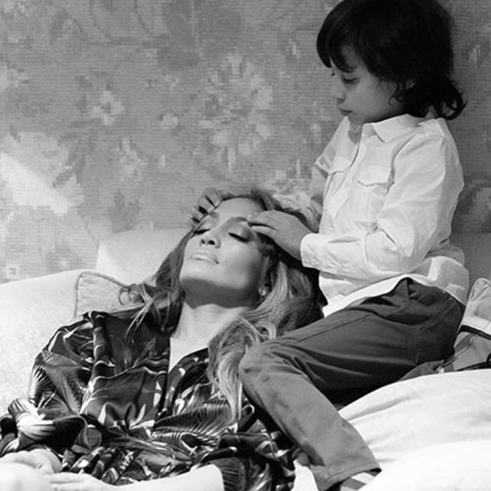 "<a href=""http://us.hellomagazine.com/tags/1/jennifer-lopez/""><strong>Jennifer Lopez</strong></a> received a massage from her son Maximilian Muñiz before hitting the stage of her Las Vegas show. She captioned the Instagram, ""My little man taking care of mama before the show... #headmassage #allIhave #allforthem #jlovegas #pricelessmoment #MaximilianMuniz #mamasboy #LOVE!""