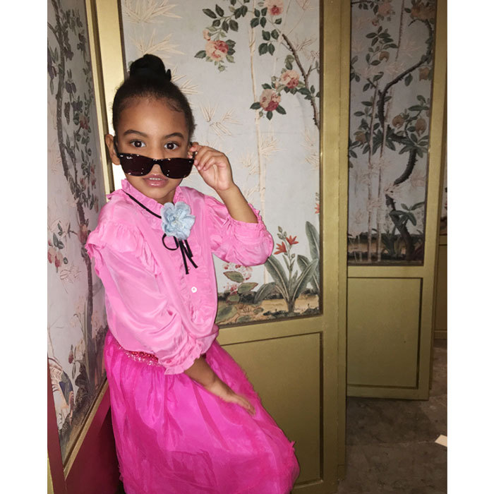 "Hello fabulous! <a href=""http://us.hellomagazine.com/tags/1/beyonce/""><strong>Beyoncé's</strong></a> daughter Blue Ivy is already taking after her famous mother in the style department.