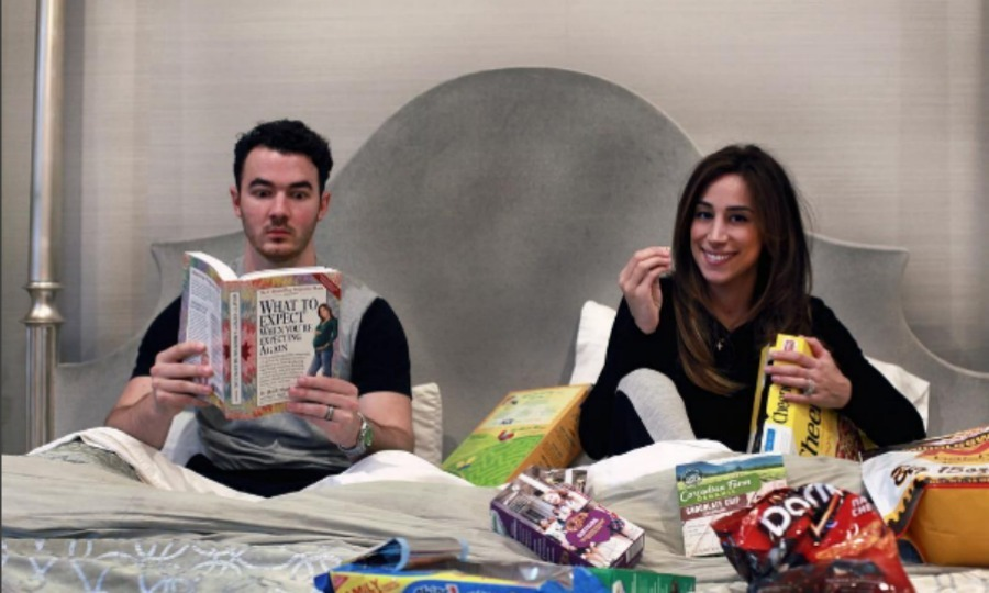 <b>Kevin and Danielle Jonas</b>