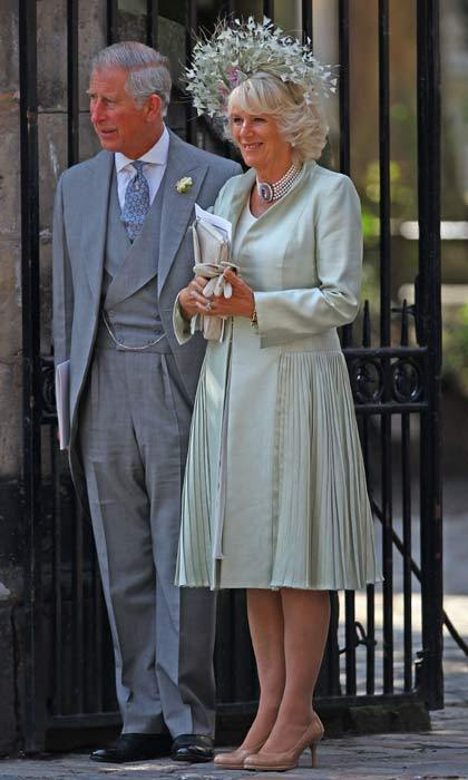 Zara's uncle Prince Charles and his wife The Duchess of Cornwall made the trip from London up to Edinburgh to be apart of the then 30-year-old's special day.