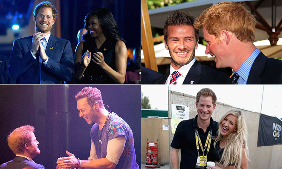 "With his famous sense of humor and down to earth nature, it's no wonder <a href=""http://us.hellomagazine.com/tags/1/prince-harry/""><strong>Prince Harry</strong></a> is so popular among many of the high profile figures he meets.