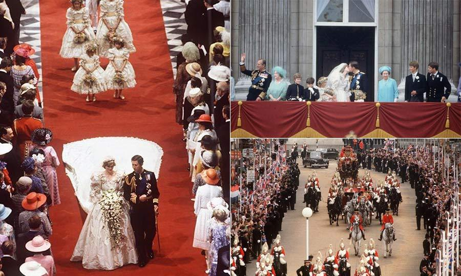 <b>Prince Charles and the late Princess Diana</b>