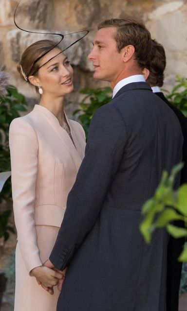 The beautiful couple made an elegant apperance at a high society wedding in France in 2013. 