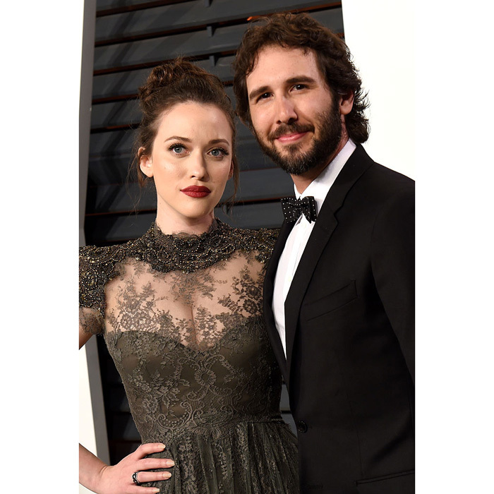 <b>Kat Dennings and Josh Groban</b>
