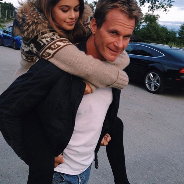 "<a href=""http://us.hellomagazine.com/tags/1/kaia-gerber/""><strong>Kaia Gerber</strong></a> will always be dad Rande Gerber's little girl no matter how big she gets! The young model noted on Father's Day, ""you're my hero today and everyday.""