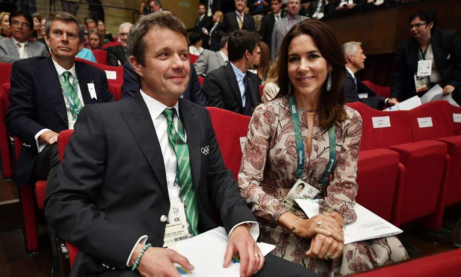 Crown Prince Frederik and Crown Princess Mary were very excited to have landed in Rio De Janeiro for the Olympic games. The pair have been spotted supporting Dutch teams at various events as well as cheering on the national team during the opening ceremony.