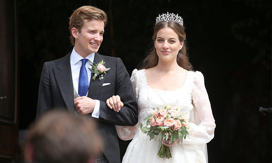 <b>Cleopatra von Adelsheim von Ernest and Hereditary Prince Franz Albrecht zu Oettingen-Spielberg</B>