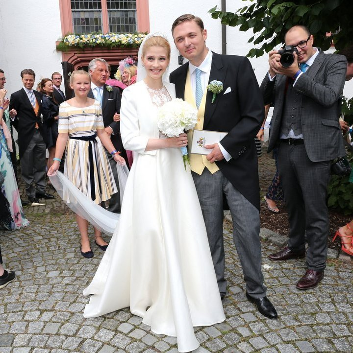 <b>Prince Maximilian of Sayn-Wittgenstein-Berleburg and Franziska Balzer</B>