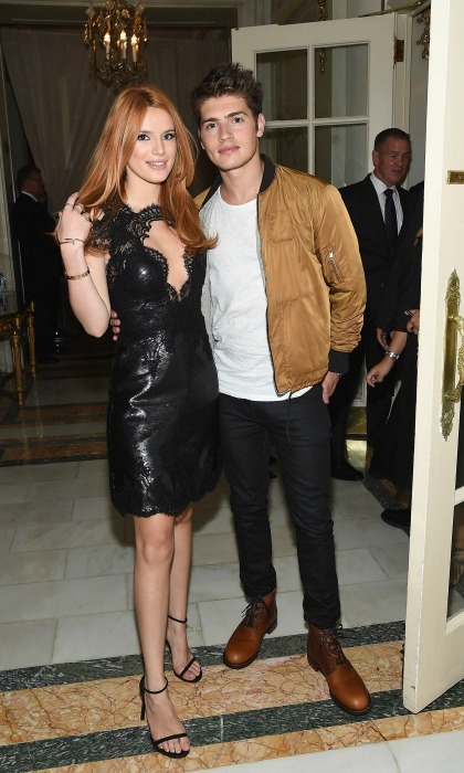 <b>Bella Thorne and Gregg Sulkin</b>