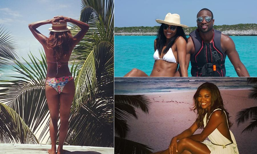 <b>Gabrielle Union and Dwyane Wade</b>