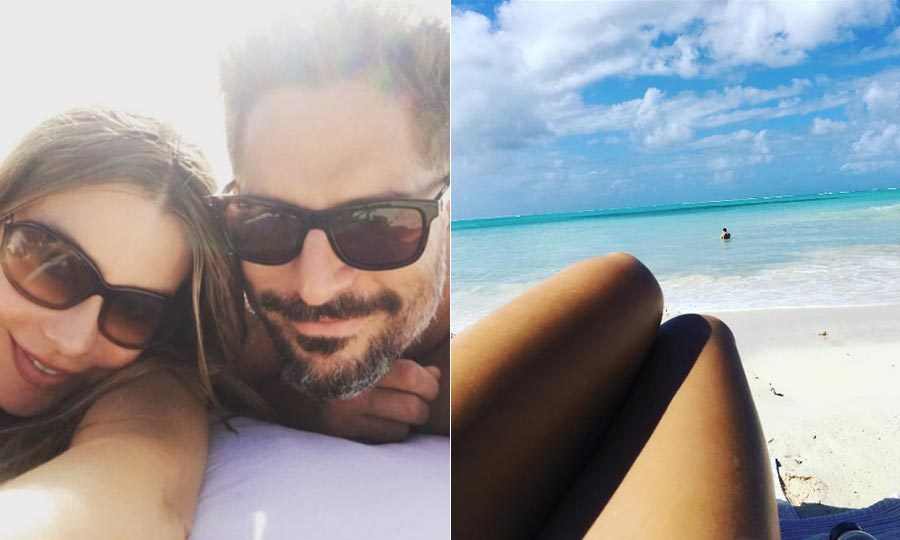 <b>Sofia Vergara and Joe Manganiello</b>
