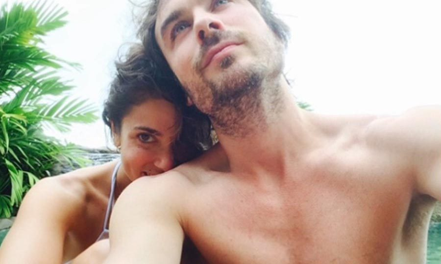 <b>Nikki Reed and Ian Somerhalder</b>