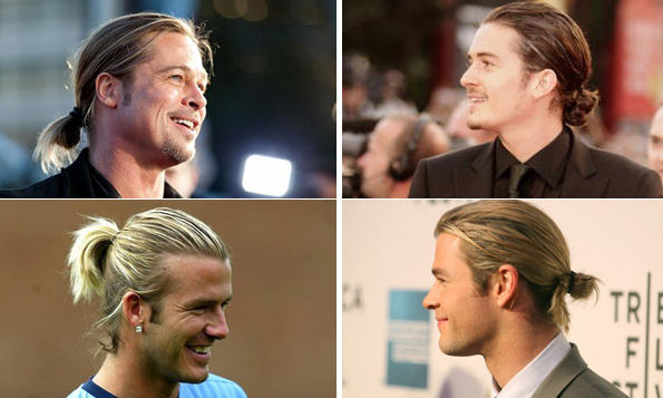 Scroll through the gallery for the best man buns in Hollywood on a few good men.