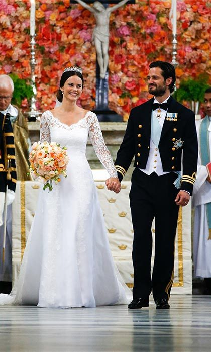 On June 13, 2015, Prince Carl Philip wed his princess in a stunning religious ceremony held at the royal chapel in Stockholm.