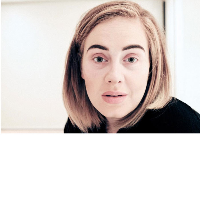 "<a href=""http://us.hellomagazine.com/tags/1/adele/""><strong>Adele</strong></a> has set eyeliner #goals for girls around the world – but she also has shown she loves to show off her natural peepers.