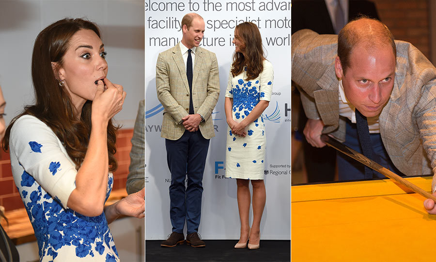 The Duke and Duchess are back in action following their vacation in France! Click through to see the best moments from their visit to Luton, England as well as their day in London.