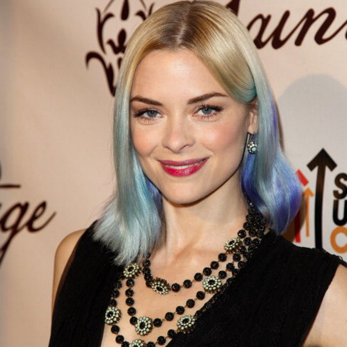 "<a href=""http://us.hellomagazine.com/tags/1/jamie-king/""><strong>Jamie King</strong></a> looks ethereal rocking a mesmerizing array of blues at the ends of her hair.