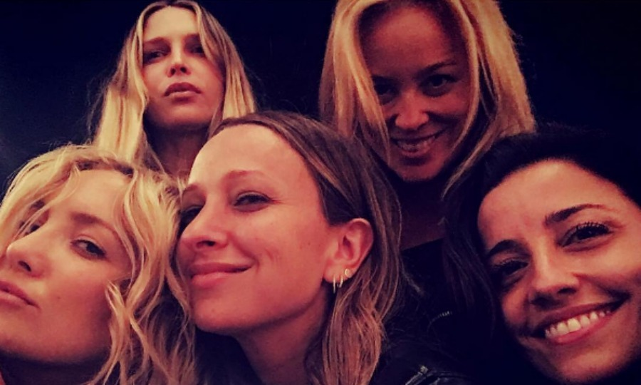 "<a href=""http://us.hellomagazine.com/tags/1/kate-hudson/""><strong>Kate Hudson,</strong></a> Jennifer Meyer and Sara Foster 