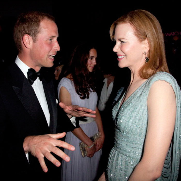 "During William and Kate's Los Angeles visit in 2011, <a href=""http://us.hellomagazine.com/tags/1/nicole-kidman/""><strong>Nicole Kidman</strong></a> was able to meet the couple at the BAFTA party.