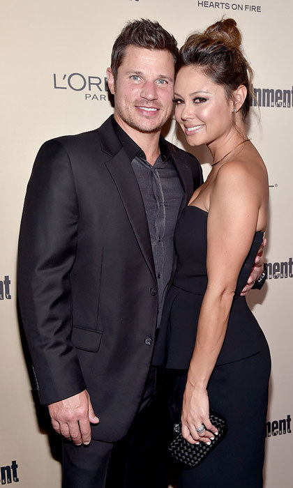 <b>Nick and Vanessa Lachey</b>