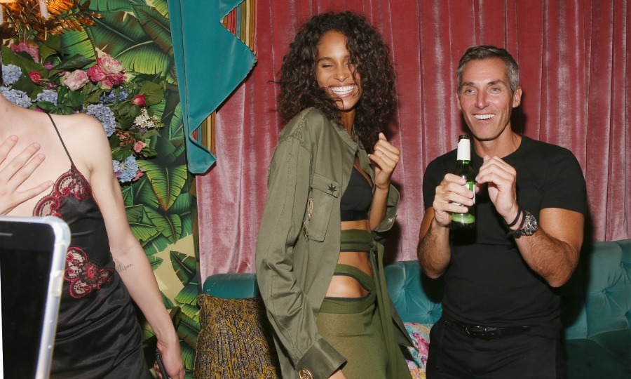 Cindy Bruna danced the night away during the Wilhelmina Models and Tumblr launch at Paul's Cocktail Lounge. 