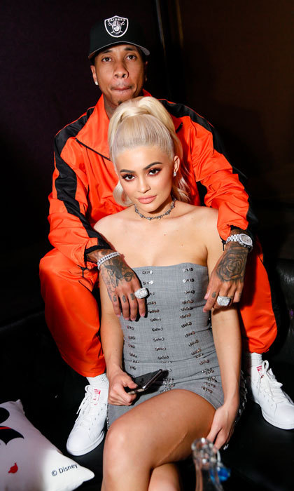 It was a fashionable date night for Kylie Jenner and Tyga. The pair attended NYLON's Rebel Fashion Party Celebrating the Original Fashion Muse Minnie Mouse.