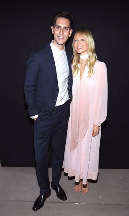 Gabe Saporta and Erin Fetherston stepped out for the Erin Fetherston fashion show held at the Skylight at Clarkson Sq.