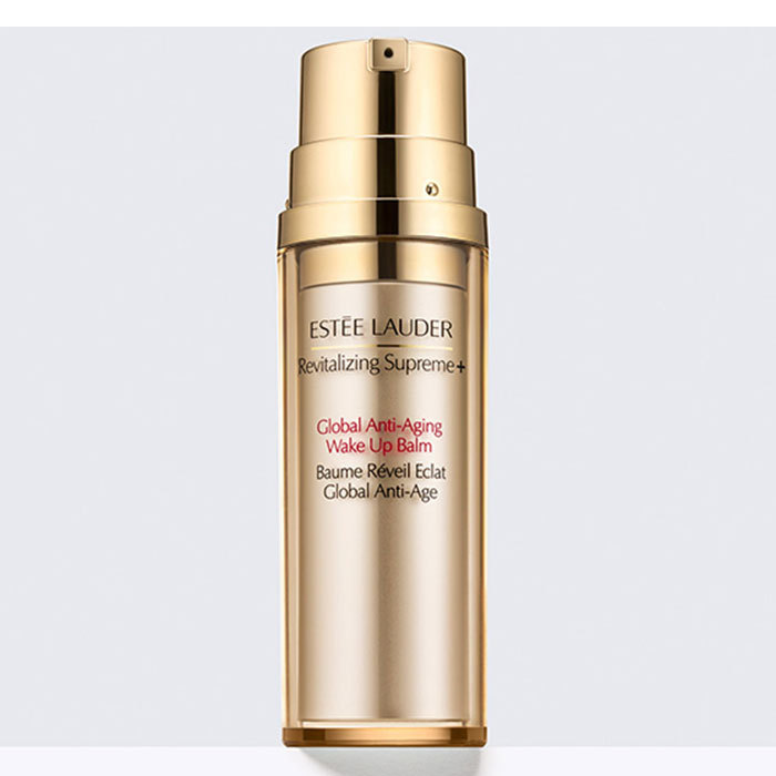 Step 2: Apply Revitalizing Supreme + Global Anti-Aging Wake Up Balm all over skin.