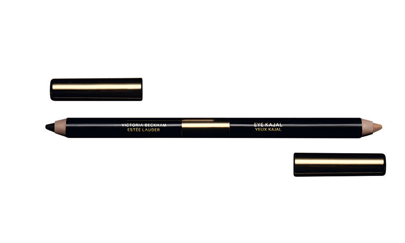 Step 9: Line inner lashlines with Eye Kajal Duo, using just the 'Vanille' shade. This must have combo is also one of the featured products from the Estée Lauder x Victoria Beckham collaboration.