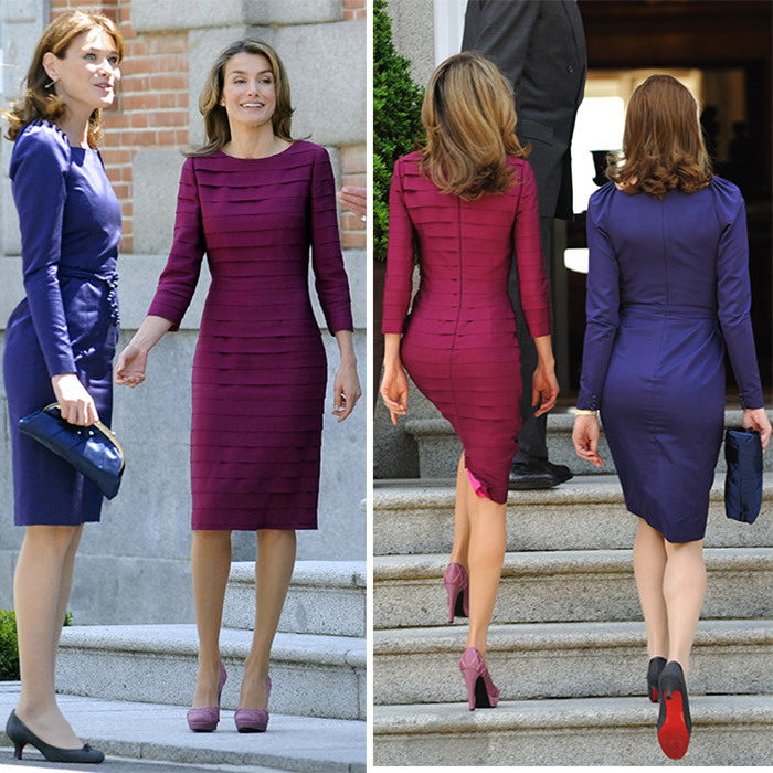 "It was billed as a ""style summit"" in 2009 when then-French President Nicolas Sarkozy's wife, former supermodel Carla Bruni-Sarkozy, met with the then-Princess Letizia in Spain. 