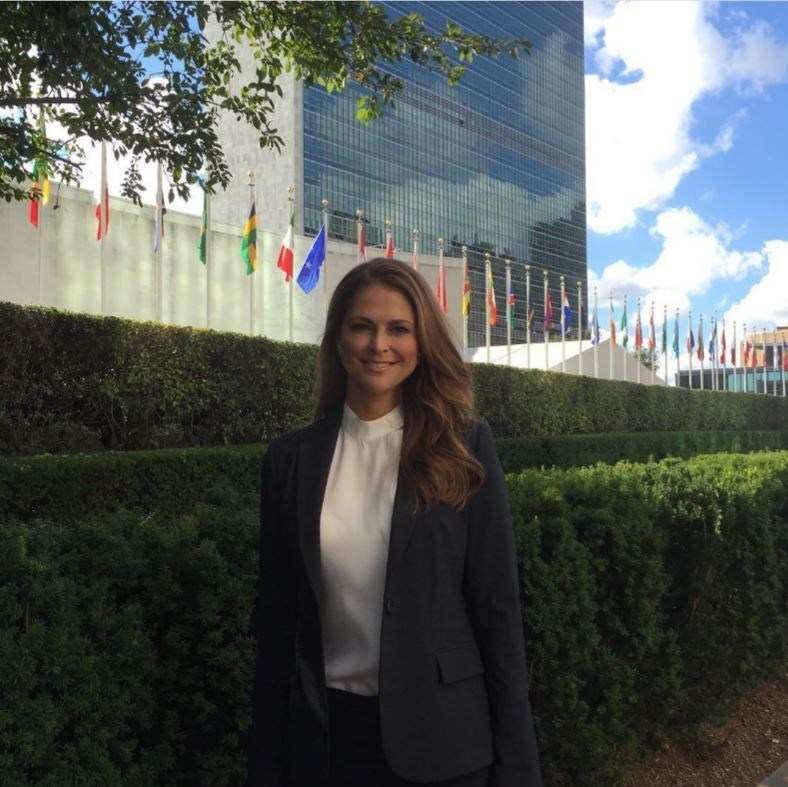 "<a href=""http://us.hellomagazine.com/tags/1/princess-madeleine/""><strong>Princess Madeleine</strong></a> made her way to NYC for a visit to the United Nations for an important discussion regarding children's rights and the importance that adults act to protect children from sexual abuse.