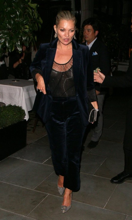 Party guests at Dave Gardner's birthday party included legendary supermodel Kate Moss.