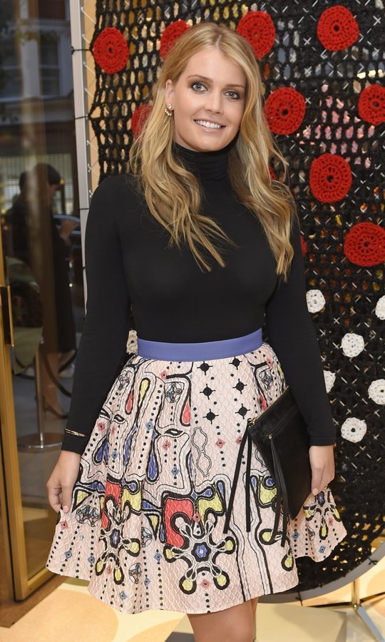 Prince William and Prince Harry's cousin, Lady Kitty Spencer, mingled at the opening of RED Valentino's first London flagship store. 