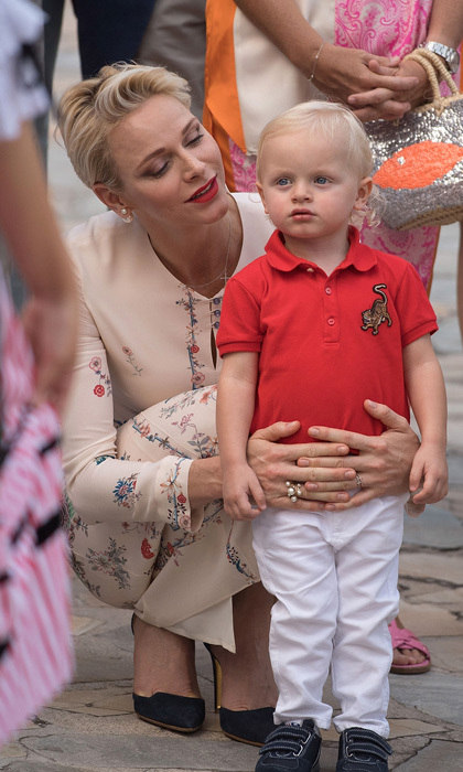 "Mommy's little boy! <a href=""http://us.hellomagazine.com/tags/1/princess-charlene/""><strong>Princess Charlene</strong></a> proudly watched her well-behaved son, <a href=""http://us.hellomagazine.com/tags/1/prince-jacques/""><strong>Prince Jacques</strong></a>, at the annual traditional Pique Nique Monagasque in Monaco.