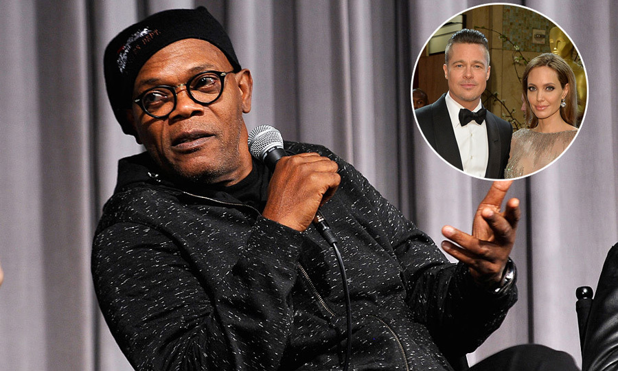 "Samuel L. Jackson, who has starred in films with Brad, did not hold back when asked about the divorce. ""It's life!"" the actor said during an appearance on <i>Good Morning Britain</i>. ""People carry on and people do what they do.""