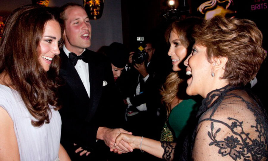 "<a href=""http://us.hellomagazine.com/tags/1/jennifer-lopez/""><strong>Jennifer Lopez</strong></a> was the perfect daughter and brought her mother Guadalupe to meet the Duke and Duchess at the party in 2011.