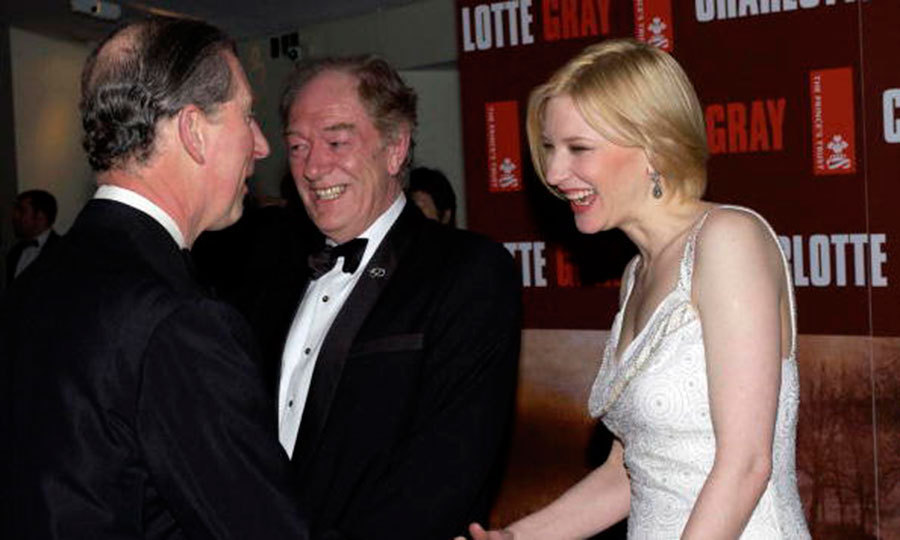 "<a href=""http://us.hellomagazine.com/tags/1/cate-blanchett/""><strong>Cate Blanchett</strong></a> met Prince Charles at a screening for her movie <i>Charlotte Gray</i> in 2002.