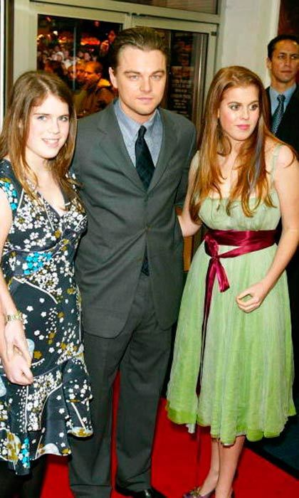 "<a href=""http://us.hellomagazine.com/tags/1/leonardo-dicaprio/""><strong>Leonardo Dicaprio</strong></a> joined <a href=""http://us.hellomagazine.com/tags/1/princess-eugenie/""><strong>Princess Eugenie</strong></a> and <a href=""http://us.hellomagazine.com/tags/1/princess-beatrice/""><strong>Princess Beatrice</strong></a> for a pic at <i>The Aviator</i> premiere in 2004.
