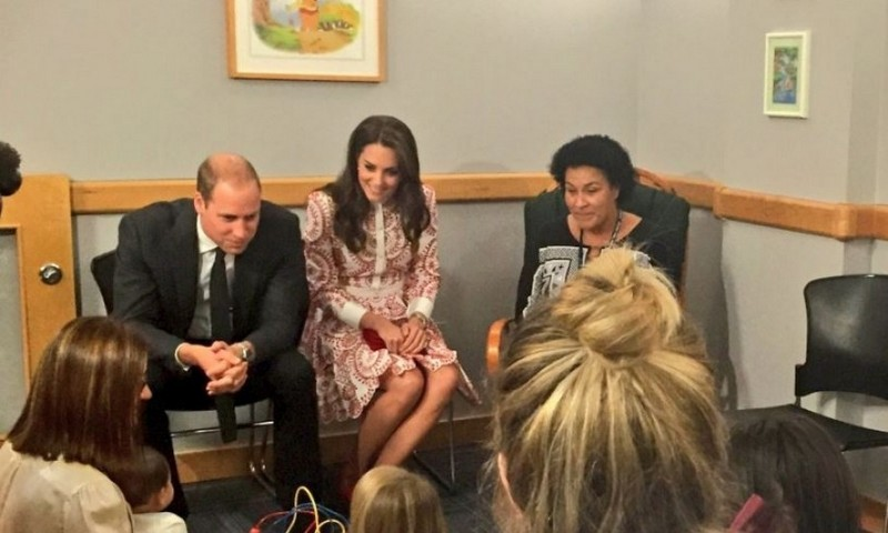Kate and William were excited to meet with staff and mothers who benefit from Sheway, a charity helping mothers overcome addiction.
