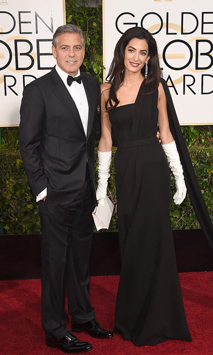 The glamorous pair made their red carpet debut as a married couple at the the 72nd Annual Golden Globe Awards in 2015.