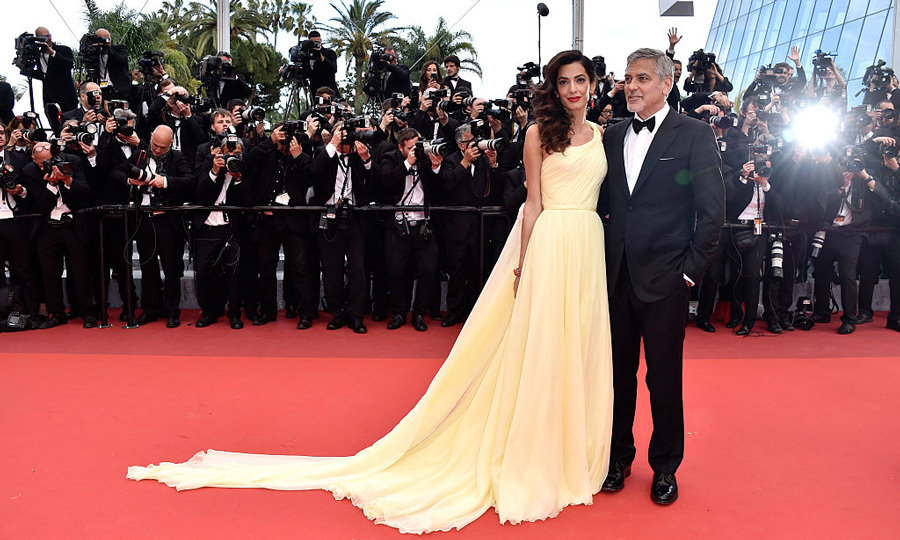 Amal turned heads at she made her Cannes Film Festival debut in 2016 beside her dapper husband.